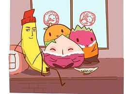 碧云小桃子系列漫画——衣锦还乡