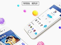 iFanie-粉丝互动娱乐-UI界面