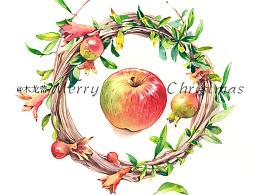 圣诞色,苹果味