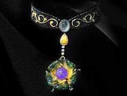 奈莎NASA珠宝高端珠宝私人定制原创设计东方文化工艺匠心·织纹雕金