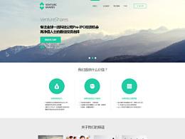 广州VENTURE SHARES (金融投资)网站项目第一期页面设计