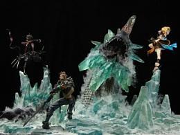 北裔堂 《DNF》 地下城与勇士 冰龙战斗场景
