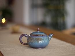 钧窑茶壶 钧瓷茶壶 器世界精品钧瓷茶具 器世界定制款 手工拉坯钧瓷茶壶系列