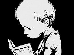 小孩和书籍