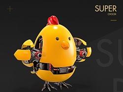 原创写实图标——SUPER CHOOK