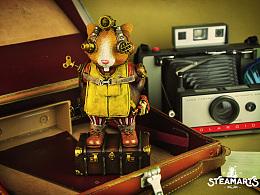 蒸汽工厂STEAMARTS新品-疯狂的兔子