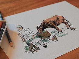 五香牛肉包装设计