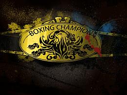 AMUMUS-拳王争霸赛腰带设计