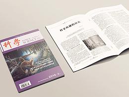 学术期刊《科学》杂志版面