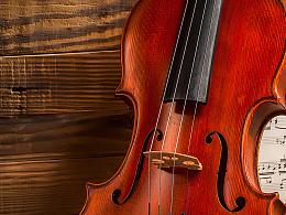 小提琴静物拍摄 产品摄影