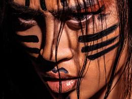 印第安 妆容