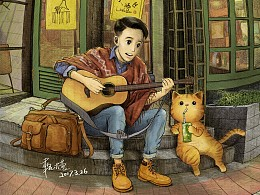 《带上橘猫去旅行》—成都玉林路小酒馆
