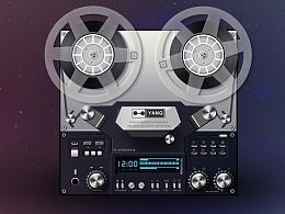 拟物化-录音机