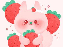 《莓莓兔甜点》系列