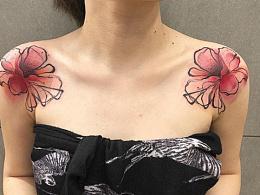 彩色独独特的纹身大合集.纹身呢是特别能体现越是简单
