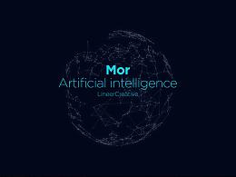 MOR人工智能语音产品品牌识别设计|灵鹿创意案例分享