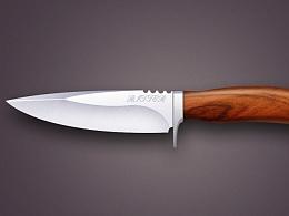 杀人直来直去的刀子