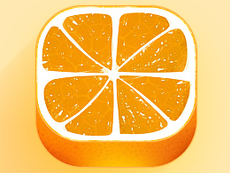 橙子图标临摹