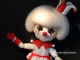 【超轻粘土】怪诞小丑。