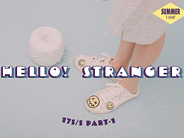 <HELLO STRANGER> SUMMER T-SHIRT