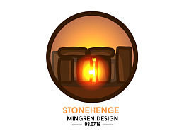 Day4- 每日設計 Stonehenge Design