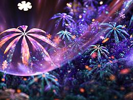 分形(Fractal)第二十七辑:花与叶