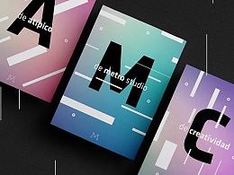 Metro Studio [品牌设计]