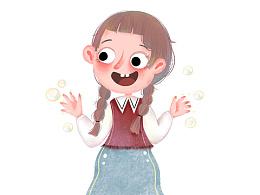 儿童插画绘本