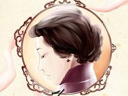 2013.3.12第一次画小说封面,果然被毙了。。。TVT