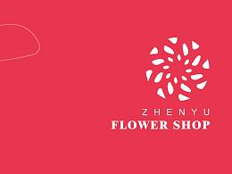 宇萌花店的logo设计