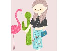 :cactus:和火烈鸟都是我的最爱