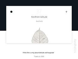 鸢尾蓝幻灯片美学设计---[二三年]《北纬37°》