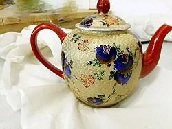 金丝珐琅彩(茶壶)