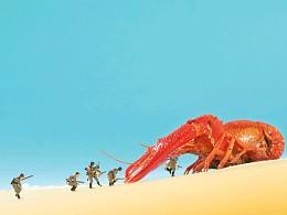 小食材|大世界  (美食摄影 | 小龙虾)