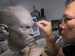 第二部分【ECC】Steve Wang操刀监制,英雄联盟授权Lucian圣枪游侠大比例雕像