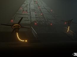 科幻CG场景--毒蜂机器人😏