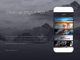 iOS相册清理APP_视觉展示