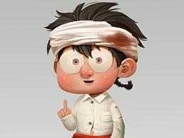 Q版游戏角色设计3—平民小伙