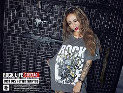 "STRETAG ""ROCK LIFE""摇滚人生经典T恤"