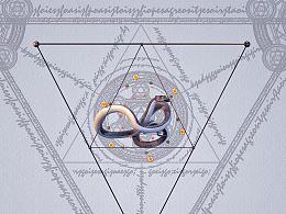 [原创]C4D毕业设计①——《蛇》