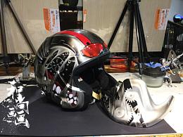 Stilo头盔  蚁人纯手工彩绘涂装完成