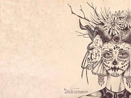 亡灵节「dia de los muertos 」
