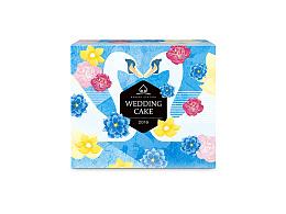 【喜饼包装】天鹅之恋系列 喜饼包装设计 礼品包装设计