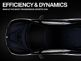 BMW i8 广告概念设计