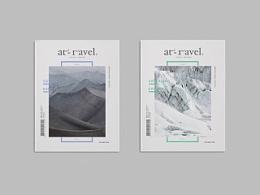 「At travel.」 杂志设计