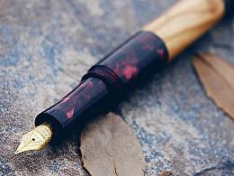 【野兽】手工钢笔——秋色玫瑰