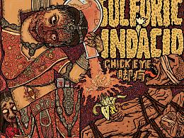 《Sulfuric Indiacid》(印度硫酸)专辑封面设计