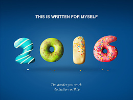 字体设计(甜甜圈)