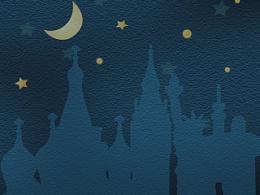 夜色童话手机主题设计
