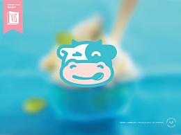 冰激凌店品牌形象设计